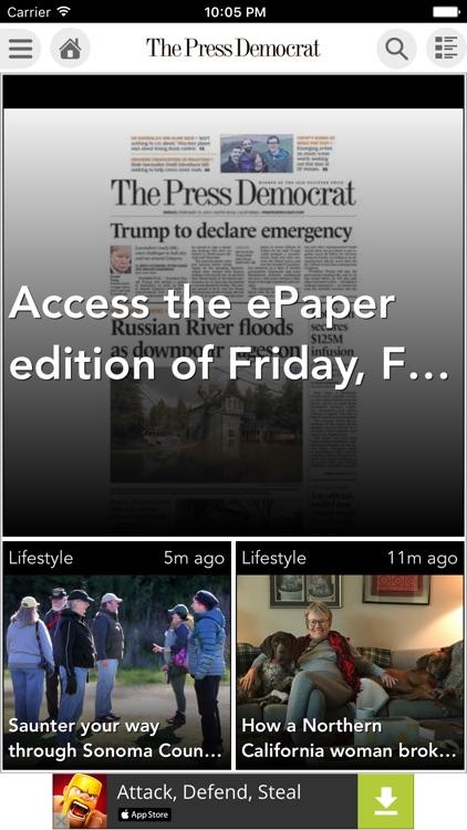 The Press Democrat eEdition