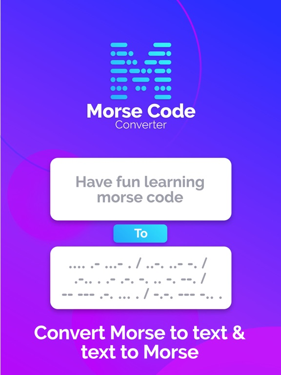 Morse Code Reader and Decoder | App Price Drops
