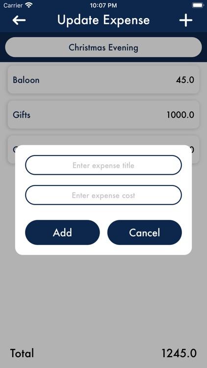 iPocket Expense Tracker
