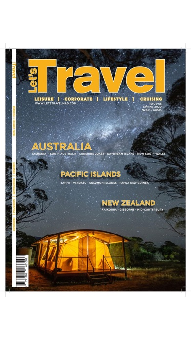 Let's Travel Magazine screenshot one