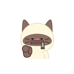 Cute baby cat ver.anger