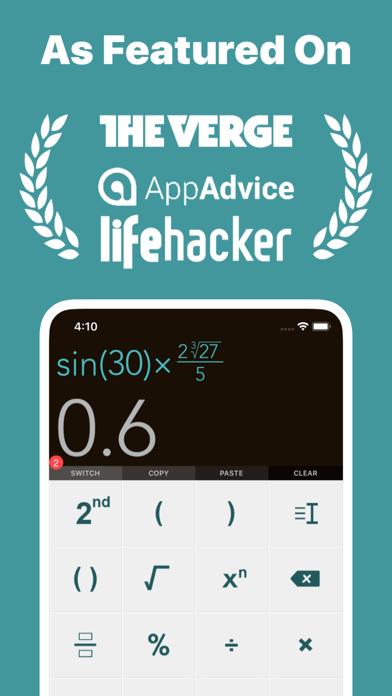 Scientific Calculator + screenshot one