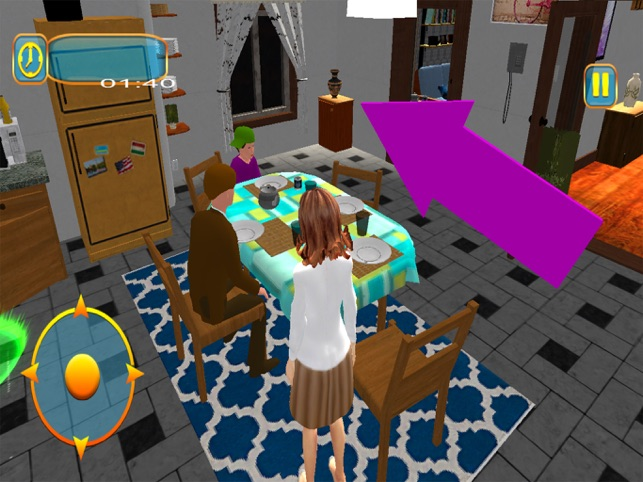 Virtual Happy Mother Sim