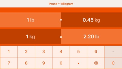 Screens9 For Pounds To Kilograms Lb To Kg