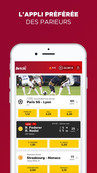 download Betclic Paris Sportifs apps 2