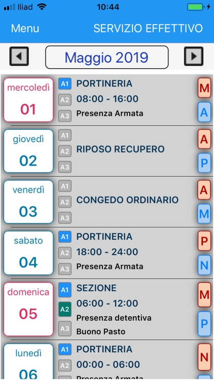 Agenda Sappe screenshot-7