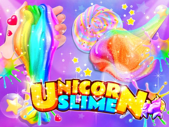Unicorn Slime: Cooking Games screenshot 7