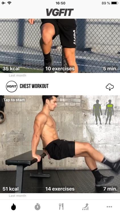 VGFIT: Workout & Training Plan