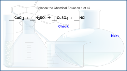 Balance The Chemical Equation app image