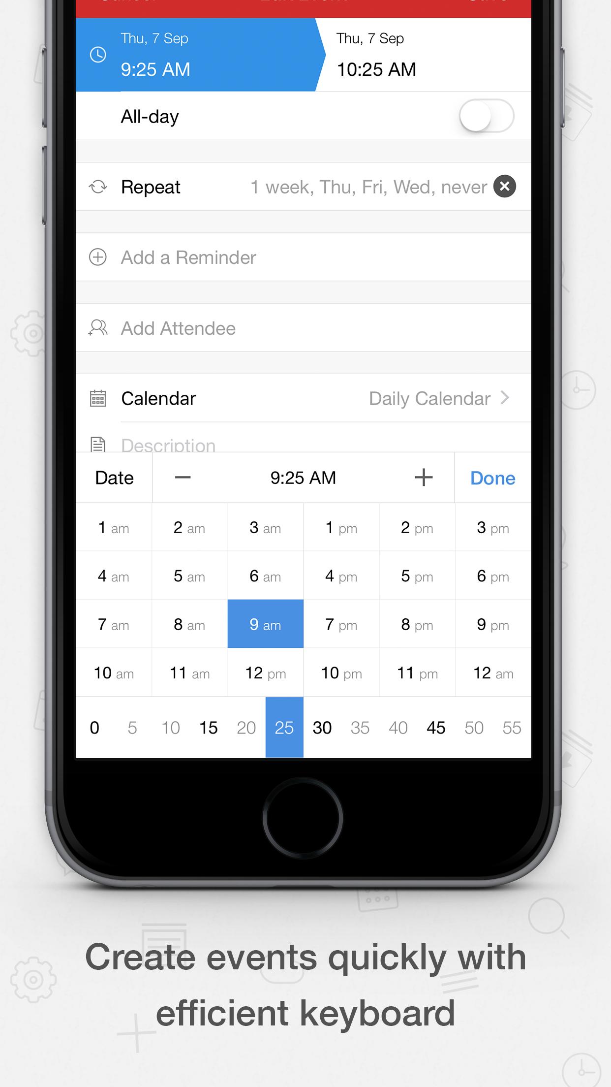 Tiny Calendar Screenshot