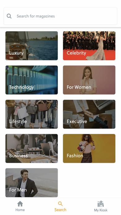 Kiosk - Unlimited MagazinesScreenshot of 2