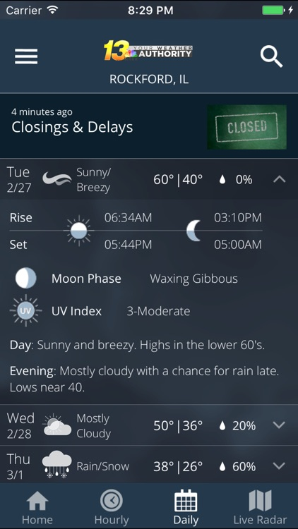 WREX Weather screenshot-4