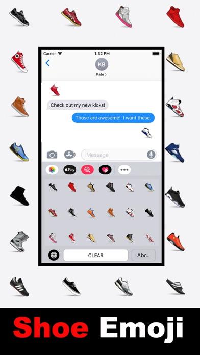 Shoe Emoji - Sneakerhead Moji screenshot 2