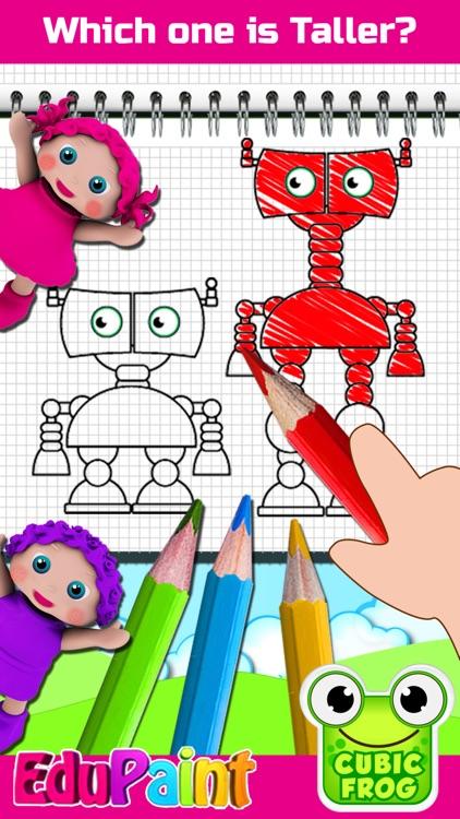 ABC Coloring Book-EduPaint screenshot-3