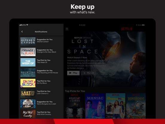 Image of Netflix for iPad