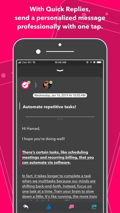 Nural - tasks, notes & chat ScreenShot8