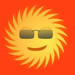 Lotsa Sun Stickers