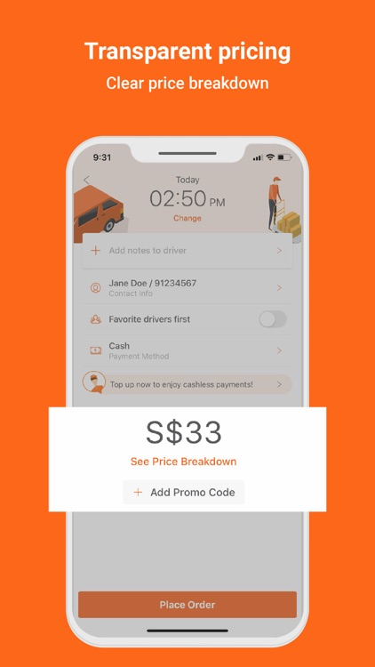 Lalamove - Fast Delivery App screenshot-4