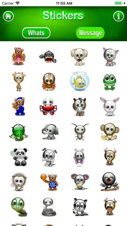 3D Stickers Messages, WeChat screenshot-4