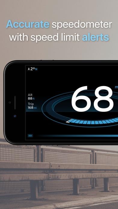 Speedometer One+ screenshot one