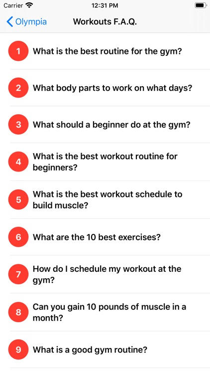 Olympia - Your Fitness Trainer screenshot-4