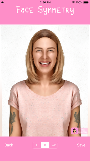 Face symmetry maker: face scan on the App Store