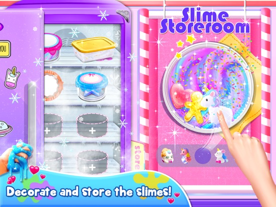 Unicorn Slime: Cooking Games screenshot 11