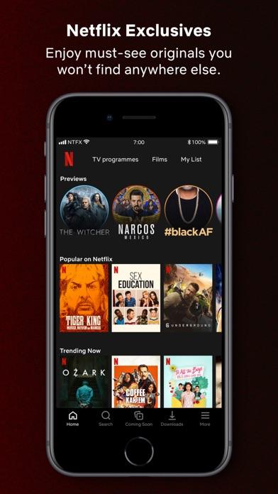 Netflix screenshot two