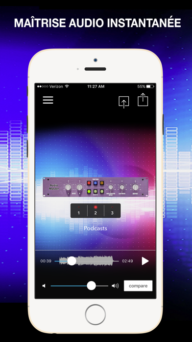Screenshot #1 pour AudioMaster: Audio Mastering