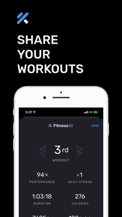 Strength Training – FitnessAI screenshot-3