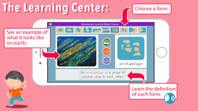 Montessori Land & Water Forms screenshot 2