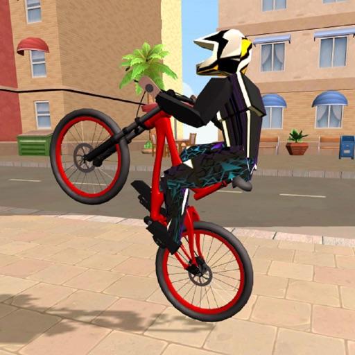 Wheelie Bike 3D - BMX stunts