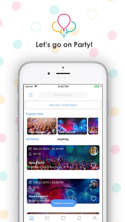 Party - Create Your Own Events