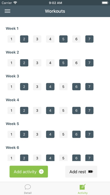 WorkoutGuru - Training plan screenshot-3
