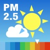 PM2.5と黄砂の予測 大気汚染予報