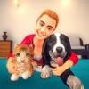 宠物 动物 逃脱 游戏 -  虚拟的  开心消消乐