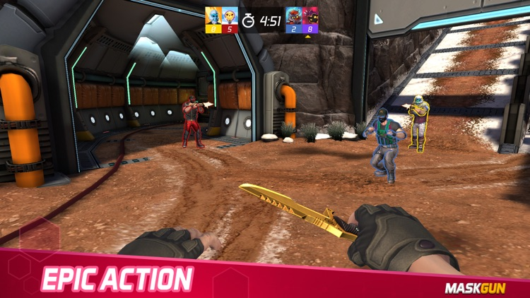 MaskGun Multiplayer FPS screenshot-3