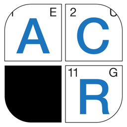 Ícone do app Acrostic Crossword Puzzles