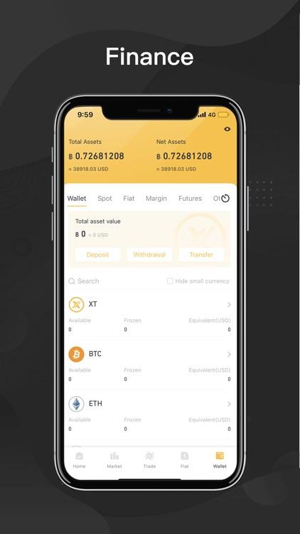 XT.COM - Buy & sell Bitcoin screenshot-4