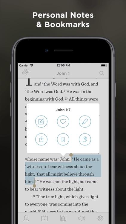 ESV Bible screenshot-3
