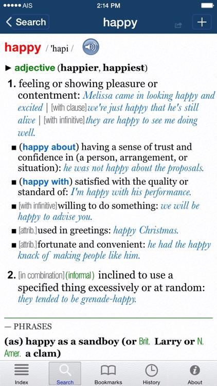 Oxford Dictionary of English. screenshot-3