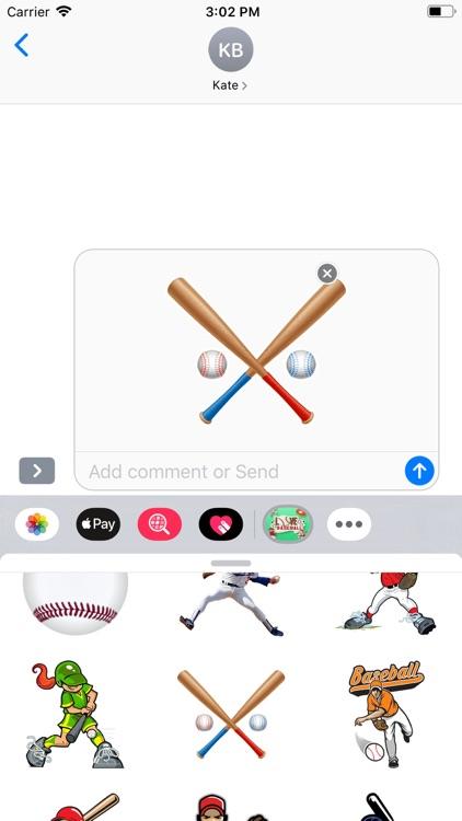 Baseball - Stickers Pack screenshot-5