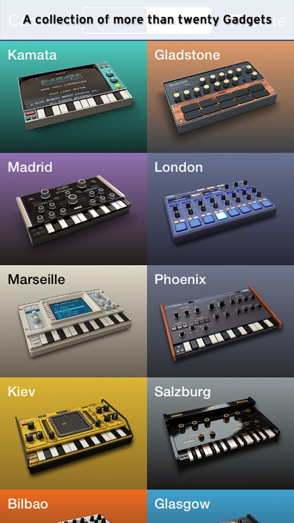 KORG Gadget screenshot-3