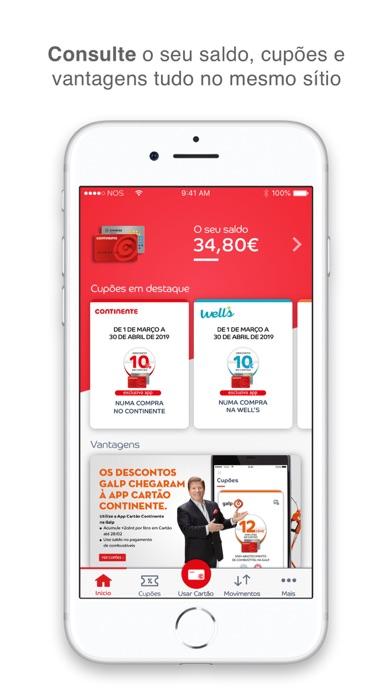 Screenshot for Cartão Continente in Portugal App Store