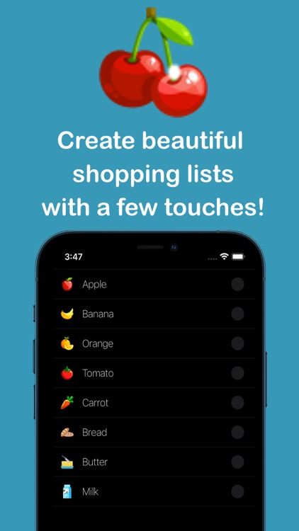 Grocery List – Shopping List