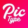 写真文字入れ - Pictype - iPadアプリ