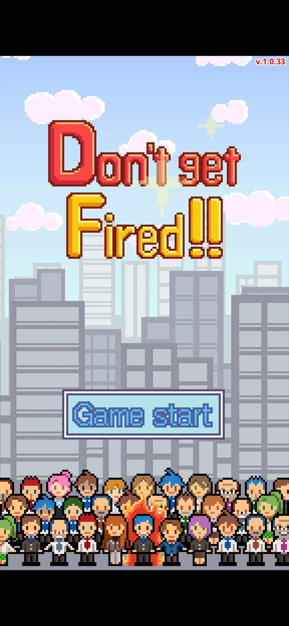 Don't get fired! Cheat Codes