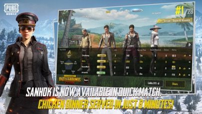 Screenshot for PUBG MOBILE in Italy App Store