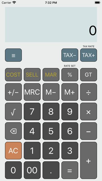 Screenshot of iCalc: Calcolatrice generale1