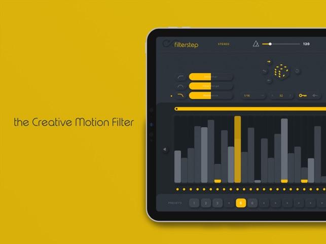 Filterstep Screenshot